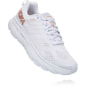 Hoka One One Clifton 6 Shoes Women white/rose gold